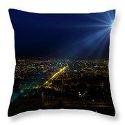 God Loves Cuenca Throw Pillow
