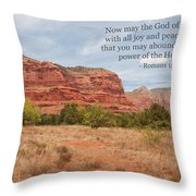 God Of Hope Throw Pillow