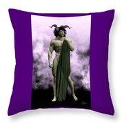 God Of The Underworld Throw Pillow