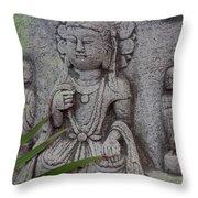 God Shiva Throw Pillow by Susanne Van Hulst