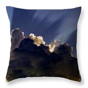 God Speaking Throw Pillow
