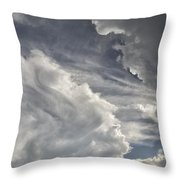 God Speaks Throw Pillow
