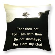God Will Help You Throw Pillow