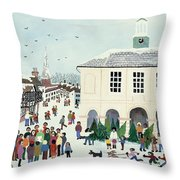 Godalming    Surrey Throw Pillow