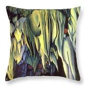Goddes Of Carlsbad Caverns Throw Pillow