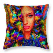 Goddess 243 Throw Pillow