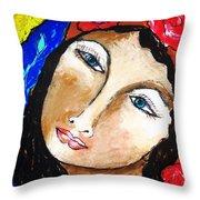 Goddess Bless Throw Pillow
