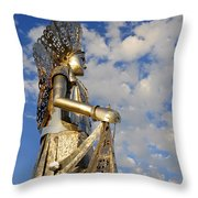 Goddess Isthmus Throw Pillow