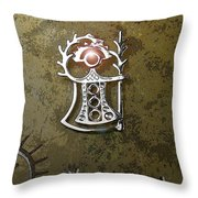 Goddess Of Fertility Throw Pillow