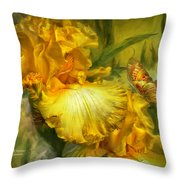 Goddess Of Summer Throw Pillow