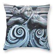 Goddess Of The Sea Throw Pillow
