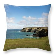 Godrevy To St Agnes, The North Cornwall Coastline Throw Pillow