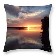 God's Artistic Touch Throw Pillow