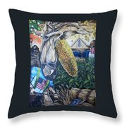 Gods Ear Throw Pillow