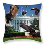 Gods Generals In Washington Throw Pillow