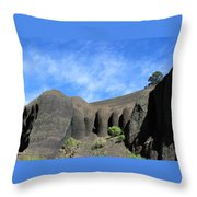 God's Grip Throw Pillow