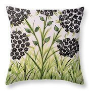 God's Only Me Wildflower  Throw Pillow