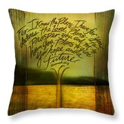 God's Plans Throw Pillow
