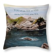 God's Promises To Us Throw Pillow