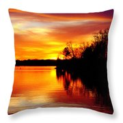 God's Work Throw Pillow
