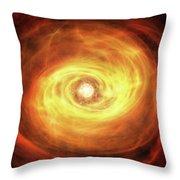 Godseye Galaxy Throw Pillow
