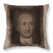 Goethe Throw Pillow