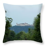 Goettweig Abbey Throw Pillow