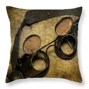 Goggles Throw Pillow