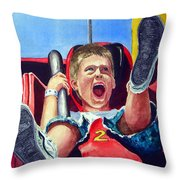 Goin' Down Throw Pillow