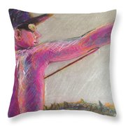 Goin' Fishin'  Throw Pillow