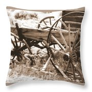 Goin' To Seed Throw Pillow