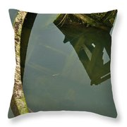 Going Below Throw Pillow
