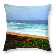 Going Coastal Throw Pillow