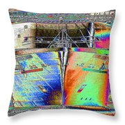 Going Cruising Throw Pillow