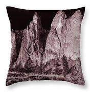 Going Dark #3 Monolith Throw Pillow