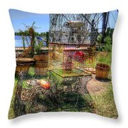 Going Fishing? Throw Pillow