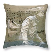Going For Gold Throw Pillow