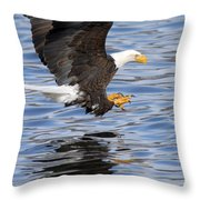 Going For The Kill Throw Pillow