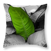 Going Green - Dreamy Throw Pillow