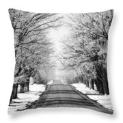 Going Home For The Holidays  Throw Pillow