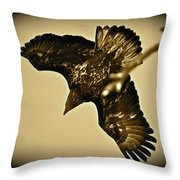 Going Hunting Throw Pillow