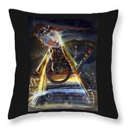 Going On Red Light Throw Pillow