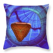 Going Up Throw Pillow by Pat Abbott