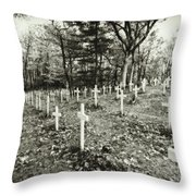 Going Up To The Spirit In The Sky Throw Pillow