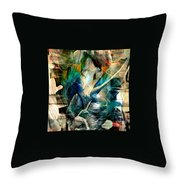 'going Within' Throw Pillow