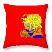 Gokou Throw Pillow