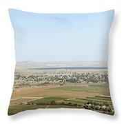 Golan Heights Throw Pillow