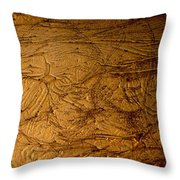 Gold Beauties Throw Pillow