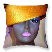 Gold Bowl Brenda Throw Pillow