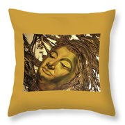 Virtues Of The Buddha Throw Pillow